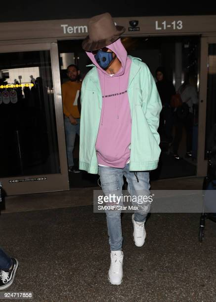 August Alsina is seen on February 26 2018 in Los Angeles California