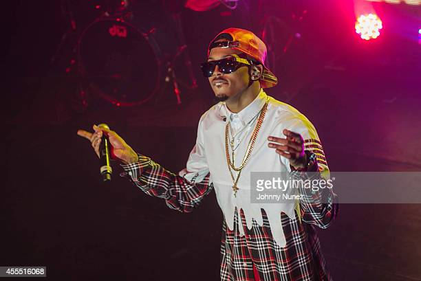 August Alsina performs at Irving Plaza on September 15 2014 in New York City