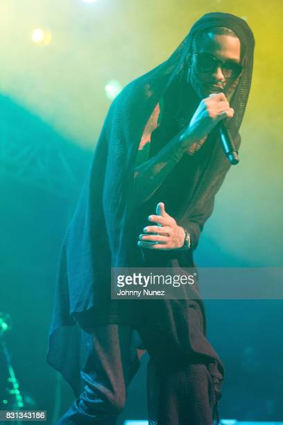 August Alsina Performs In Concert at Irving Plaza on August 13 2017 in New York City