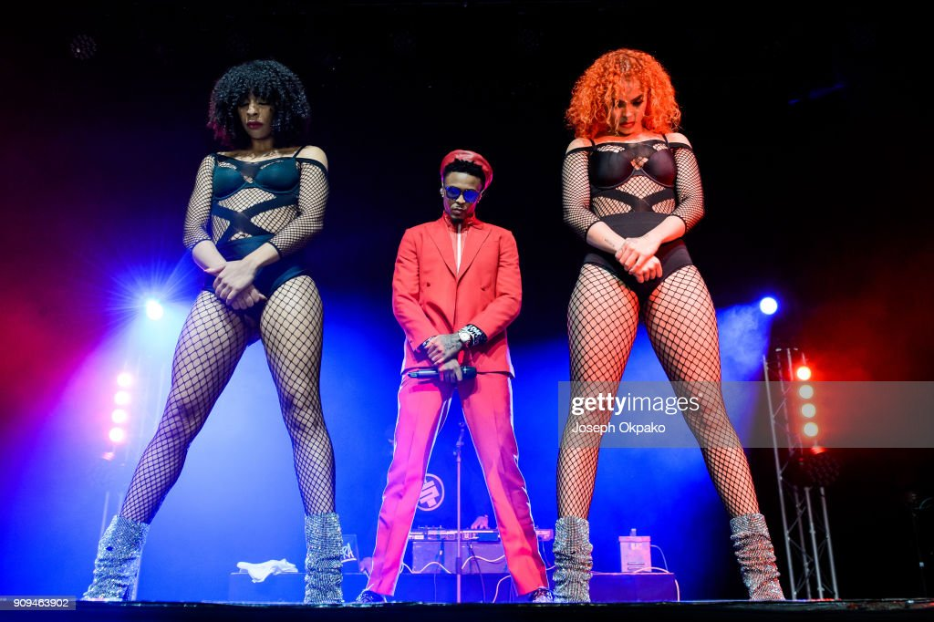 August Alsina Performs At Indigo At The O2 London : News Photo