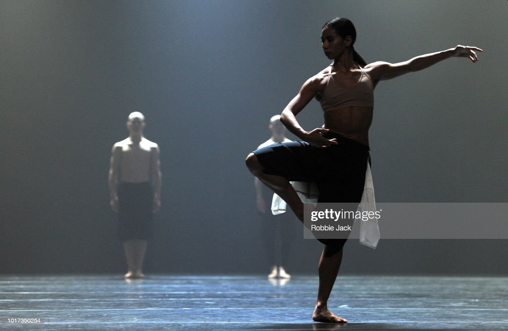Artists of the company in Company Wayne McGregor's production Autobiography at The Festival Theatre as part of the Edinburgh International Festival 2018 on August 2, 2018 in Edinburgh, Scotland.