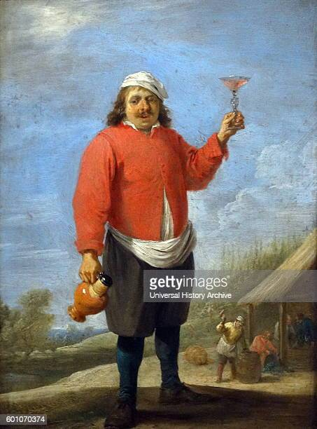 August by David Teniers the Younger a Flemish painter Dated 17th Century