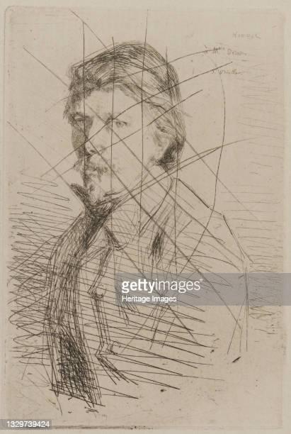 August Delâtre, 1858. Artist James Abbott McNeill Whistler.