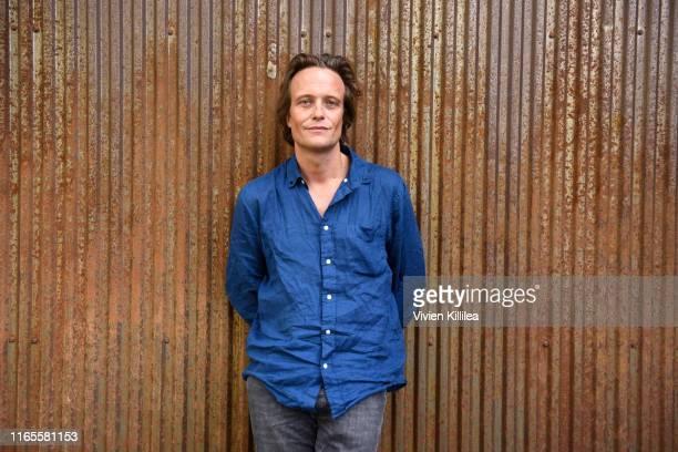 August Diehl attends the Telluride Film Festival 2019 attend on September 1st 2019 in Telluride Colorado