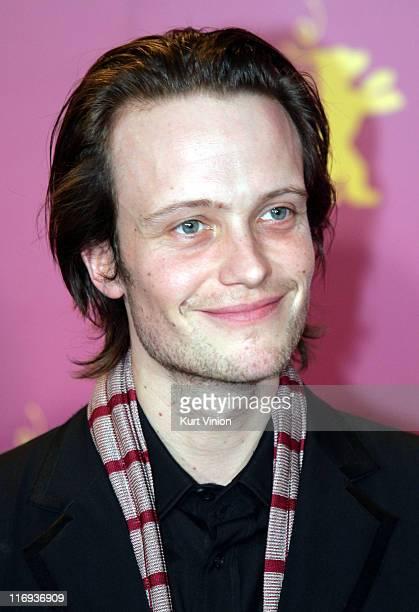August Diehl during 56th Berlinale International Film Festival Slumming Photocall in BERLIN Germany