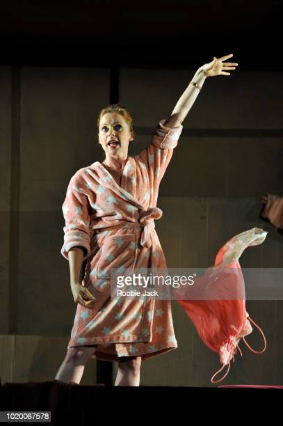 Kate Batter as Polly Peachum in Theatre des Bouffes du Nord's production of Ian Burton and Robert Carsen's adaptation of John Gay's The Beggar's...