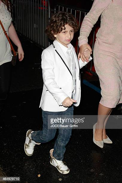 August Maturo is seen in Hollywood on March 01 2015 in Los Angeles California