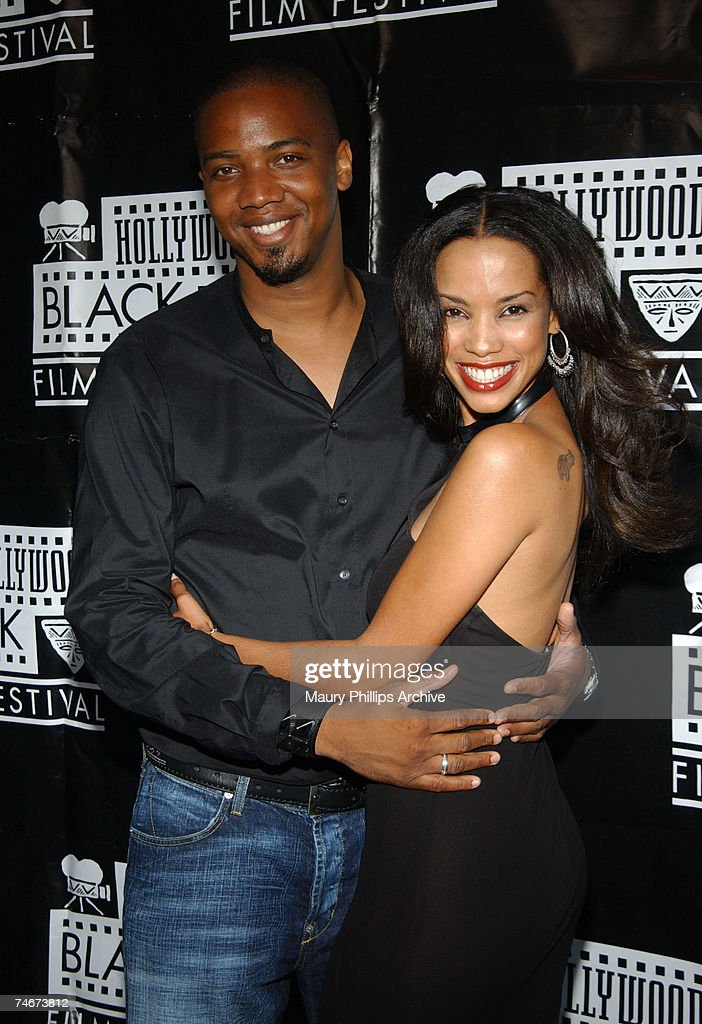 J. August Richards and Tamara Curry at the The Harmony Gold Preview House in Hollywood, California