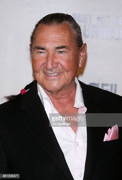 August Schellenberg during HBO Films' Bury My Heart at Wounded Knee Arrivals at American Museum of Natural History in New York City New York United...