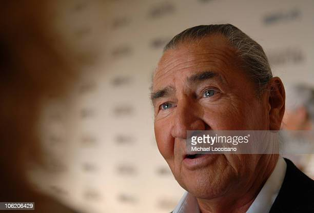 """August Schellenberg during The World Premiere of HBO Film's """"Bury My Heart at Wounded Knee"""" - Arrivals at American Museum of Natural History in New..."""