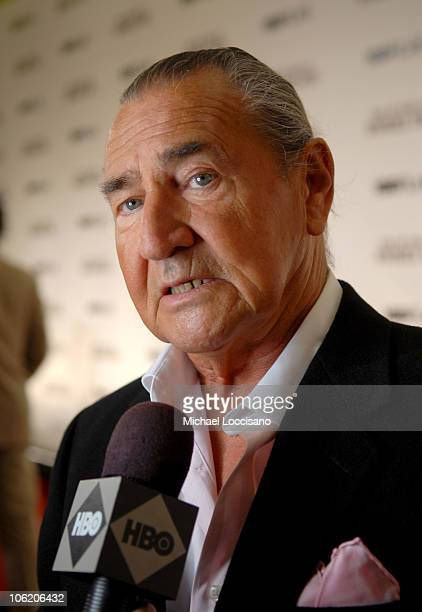 August Schellenberg during The World Premiere of HBO Film's Bury My Heart at Wounded Knee Arrivals at American Museum of Natural History in New York...