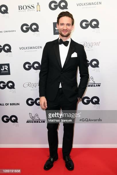 August Wittgenstein arrives for the 20th GQ Men of the Year Award at Komische Oper on November 8 2018 in Berlin Germany