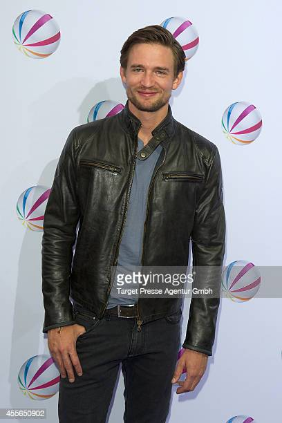 August Wittgenstein attends the 'Die Schlikkerfrauen' photocall at Babylon on September 17 2014 in Berlin Germany