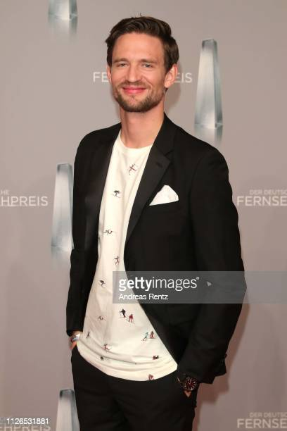 August Wittgenstein attends the German Television Award at Rheinterrasse on January 31 2019 in Duesseldorf Germany