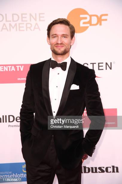 August Wittgenstein attends the Goldene Kamera at Tempelhof Airport on March 30 2019 in Berlin Germany