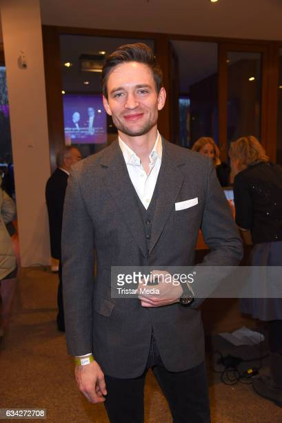 August Wittgenstein attends the opening recipience of the german film and TVproducer alliance to the 67 Berlinale International Film Festival on the...