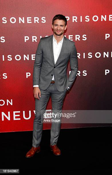 August Wittgenstein attends the 'Prisoners' Germany Premiere at Sony Centre on September 26 2013 in Berlin Germany