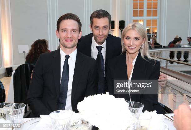 August Wittgenstein Brand Ambassador Montblanc Vincent Montalescot Executive Vice President Marketing Montblanc International and Lena Gercke Brand...