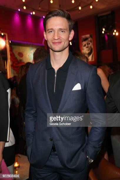 August Wittgenstein during the BUNTE BMW Festival Night 2018 on the occasion of the 68th Berlinale International Film Festival Berlin at Restaurant...