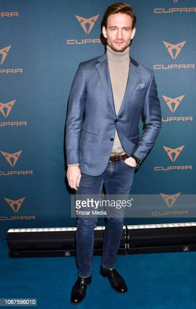 August Wittgenstein during the Cupra x Berlin Night by Seat event at U3Tunnel on November 30 2018 in Berlin Germany