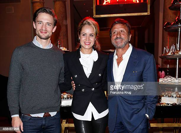 August zu SaynWittgenstein Berleburg Olivia Steele and Sir Rocco Forte attend the ReOpening of the 'La Banca' restaurant at Hotel de Rome on November...