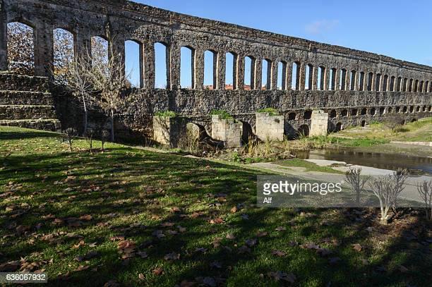 Augusta Emerita, San Lázaro Aqueduct, Merida, Spain