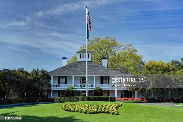 AUGUSTA GA Augusta National Golf Club Clubhouse