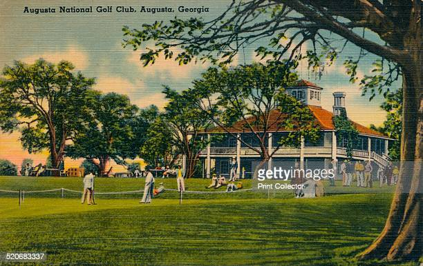 Augusta National Golf Club House, 1943. Augusta National Golf Club was founded by Bobby Jones and Clifford Roberts on the site of the former...