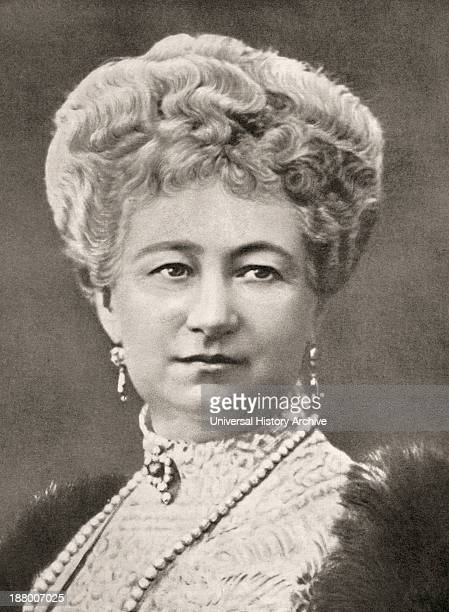 Augusta Victoria Of SchleswigHolstein 1858 – 1921 Last German Empress And Queen Of Prussia From La Esfera 1914