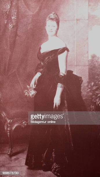 Augusta Victoria of SchleswigHolstein Auguste Viktoria Friederike Luise Feodora Jenny 22 October 1858 11 April 1921 was the last German empress and...