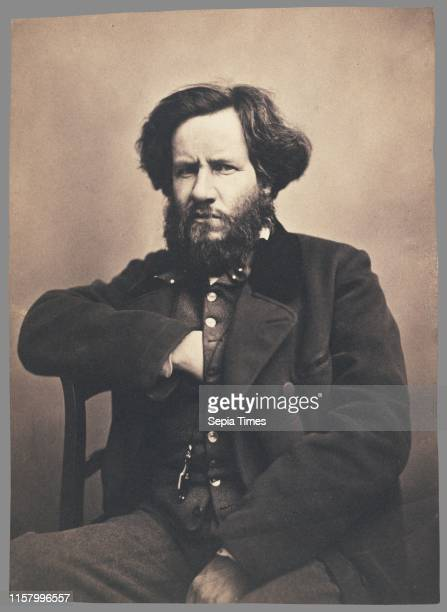 Auguste Luchet Nadar [Gaspard Felix Tournachon] French 1820 1910 1855 1859 Salted paper print Image 216 x 155 cm