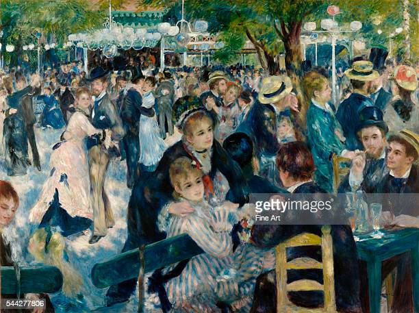Auguste Renoir Dance at Le Moulin de la Galette oil on canvas 131 x 175 cm Musée d'Orsay Paris