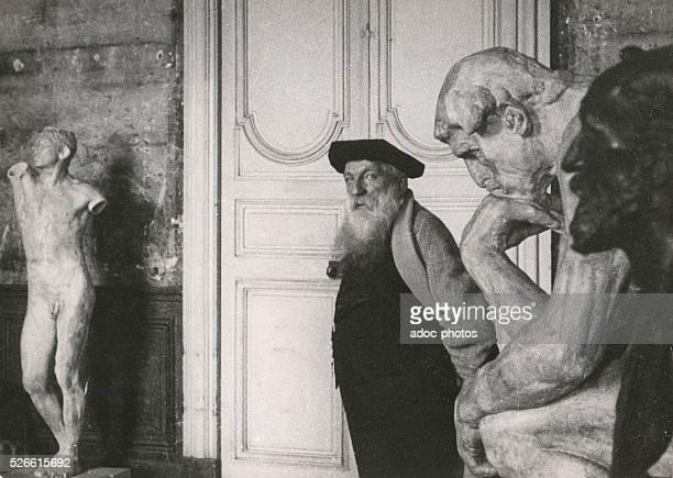 Auguste Rodin French sculptor born in Paris Ca 1910