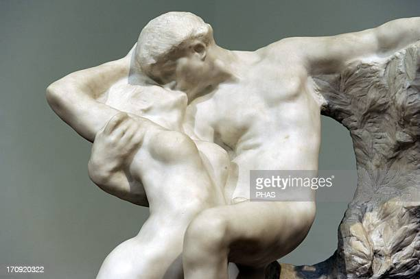 Auguste Rodin French sculptor Eternal Spring 1884 Marble Museum of Fine Arts Budapest Hungary