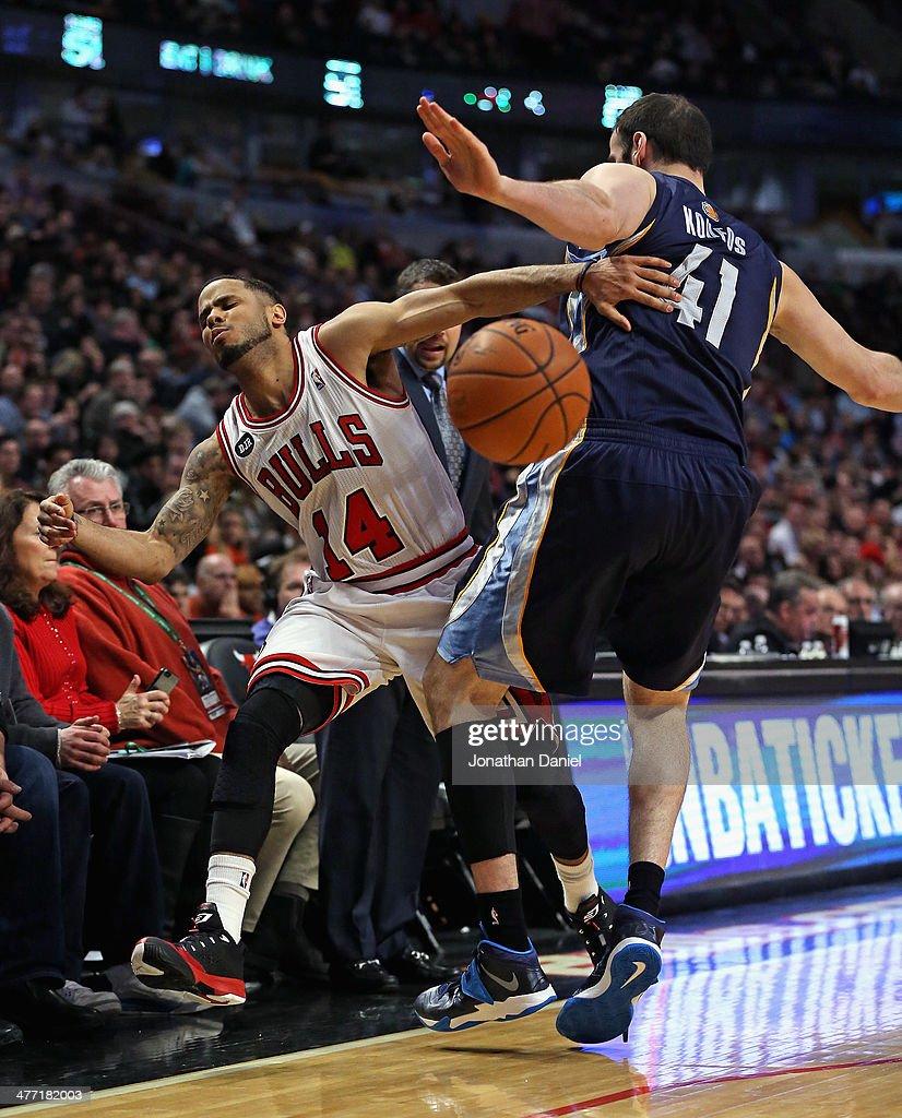 Memphis Grizzlies v Chicago Bulls