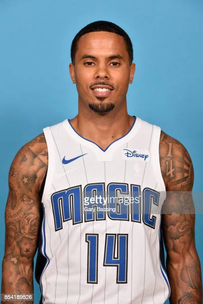 J Augustin of the Orlando Magic poses for a head shot during media day on September 25 2017 at Amway Center in Orlando Florida NOTE TO USER User...