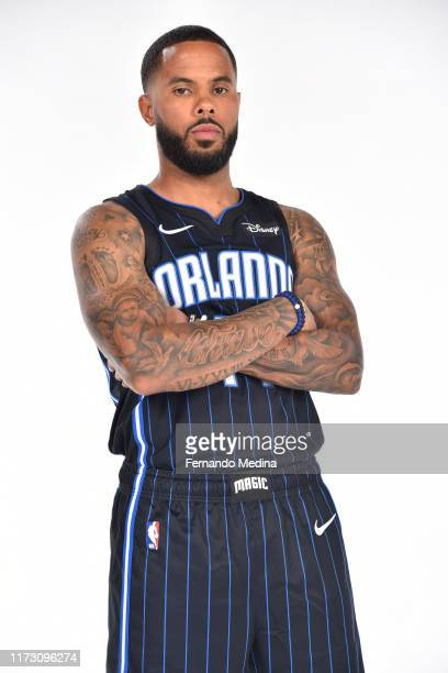 J Augustin of the Orlando Magic poses for a portrait during media day on September 30 2019 at the Amway Center in Orlando Florida NOTE TO USER User...