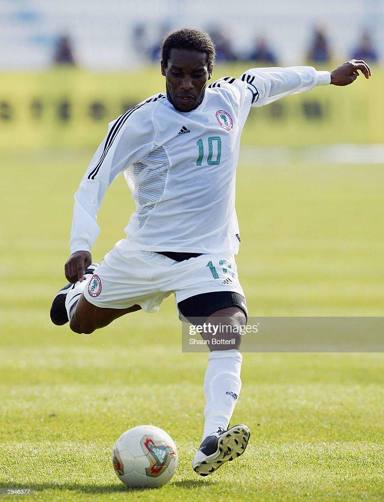 Cameroon v Nigeria  : News Photo