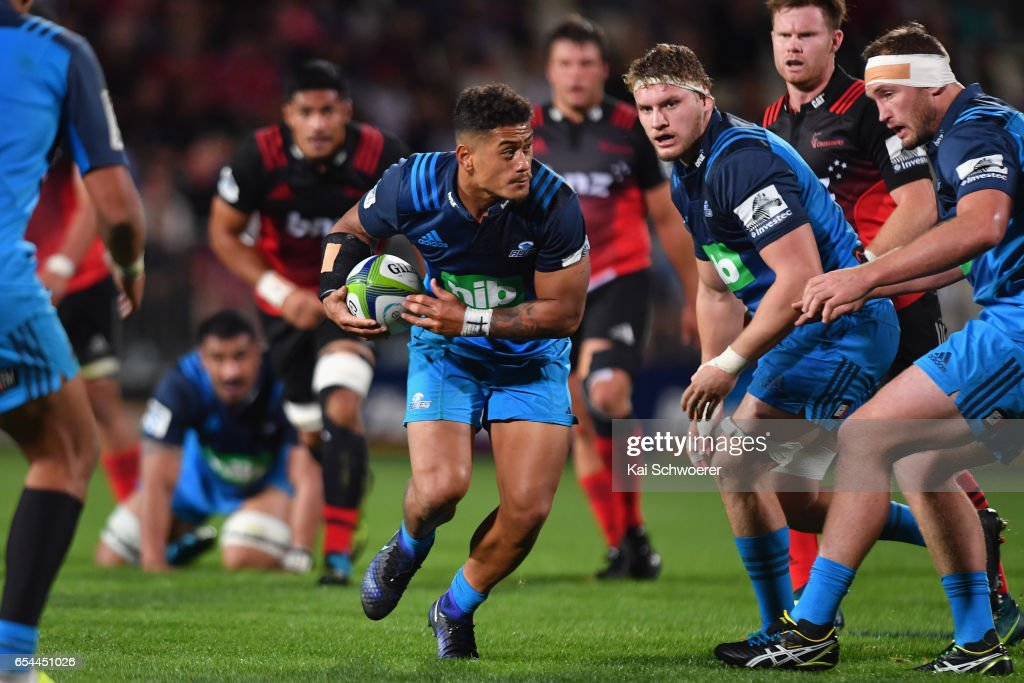Super Rugby Rd 4 - Crusaders v Blues