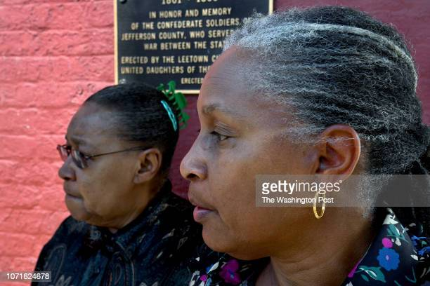 Augustine Strother and Linda Downing Ballard are two of the concerned women in Charles Town who are offended by the plaque that honors Confederate...