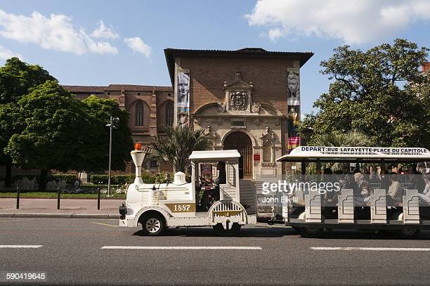 Augustins Museum with tourist train