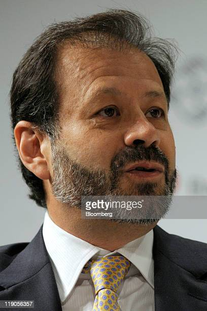 Augusto de la Torre chief economist for Latin American at the World Bank Group speaks at the Bloomberg via Getty Images Brazil Conference in New York...