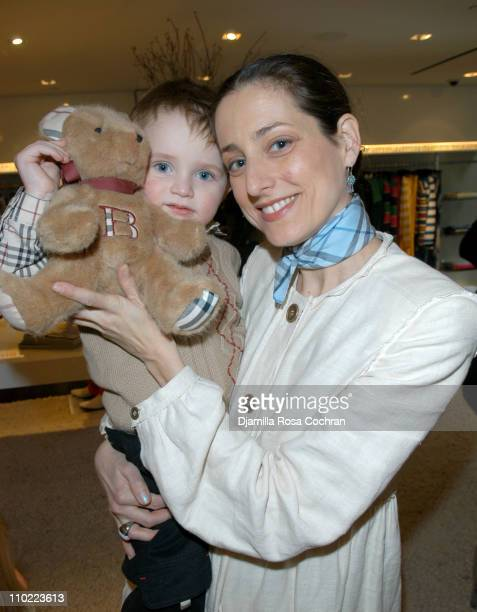 Augustus Albemarle and Sally Albemarle during Bella Cuomo and Augustus Albemarle's Birthday Party March 17 2005 at Burberry in New York City New York...
