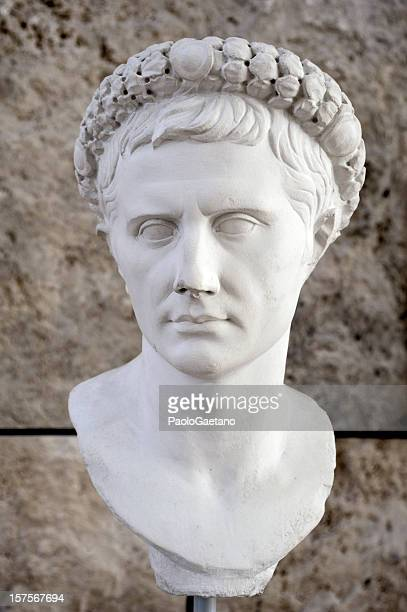 augustus - emperor stock pictures, royalty-free photos & images