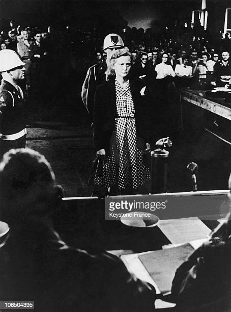 Auilse Koch At The Us Military Tribunal In Dachau August 18Th 1947