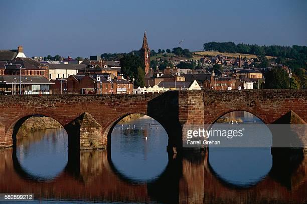 Auld Bridge and River Nith