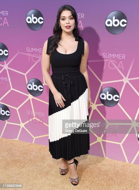 Auli'i Cravalho arrives at ABC's TCA Summer Press Tour Carpet Event on August 5 2019 in West Hollywood California