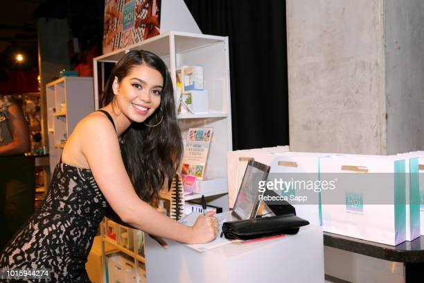 Auli'i Cravalho at Backstage Creations Celebrity Retreat At Teen Choice 2018 Day 2 at The Forum on August 12 2018 in Inglewood California