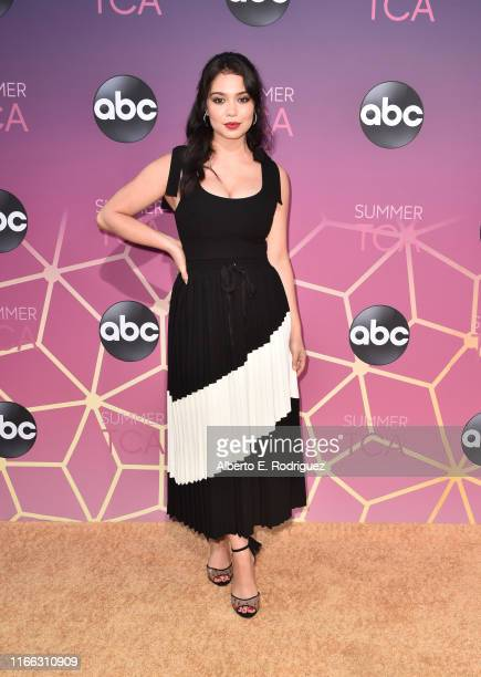Auli'i Cravalho attends ABC's TCA Summer Press Tour Carpet Event on August 05 2019 in West Hollywood California