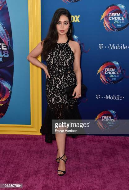 Auli'i Cravalho attends FOX's Teen Choice Awards at The Forum on August 12 2018 in Inglewood California